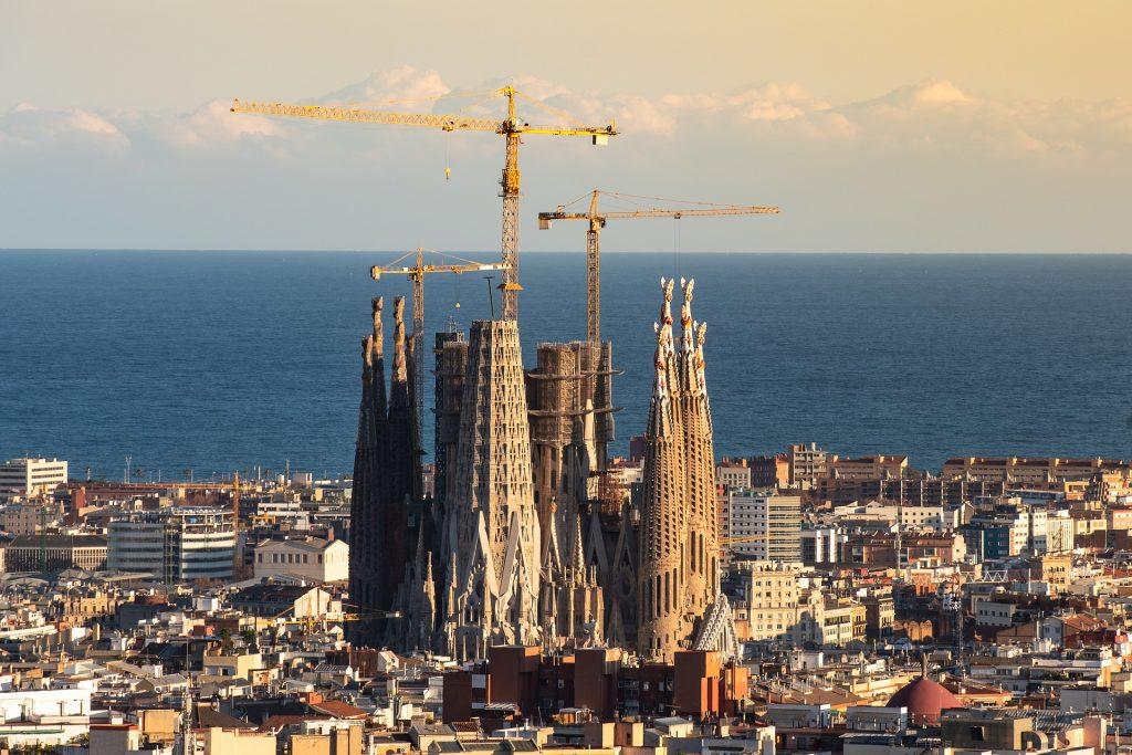大規模な建設イメージ