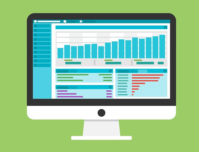 CMSの管理画面上でアクセス数の把握なども簡単にできます