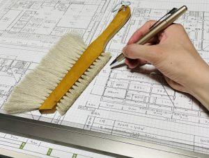 建築士の製図
